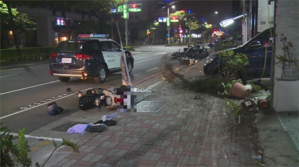 快新聞/高雄酒駕男肇逃連2撞 竟棄車遭逮 女騎士受傷