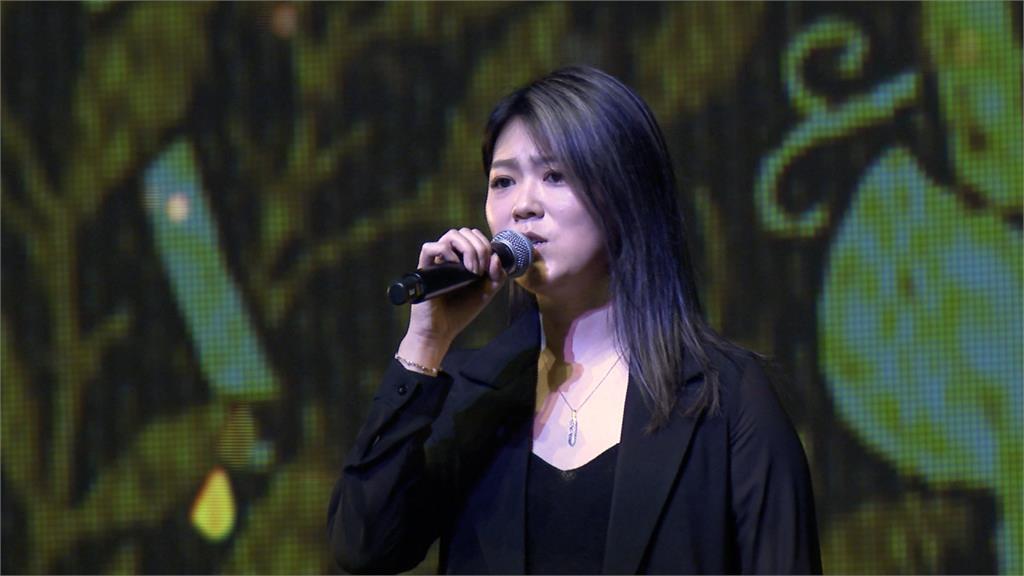 文協百周年音樂會 曹雅雯彩排高唱《望春風》
