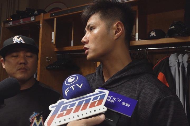陳偉殷首局挨兩轟 賽後表示「自己太急了」
