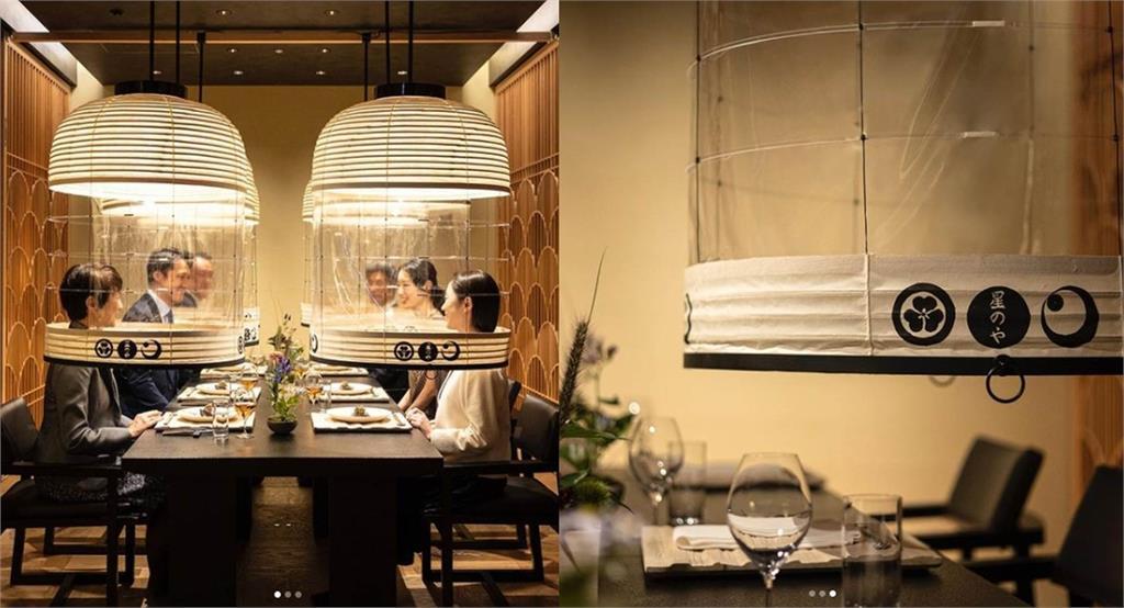 防疫出奇招!日本飯店推「燈籠晚餐」網全看傻:太尷尬了
