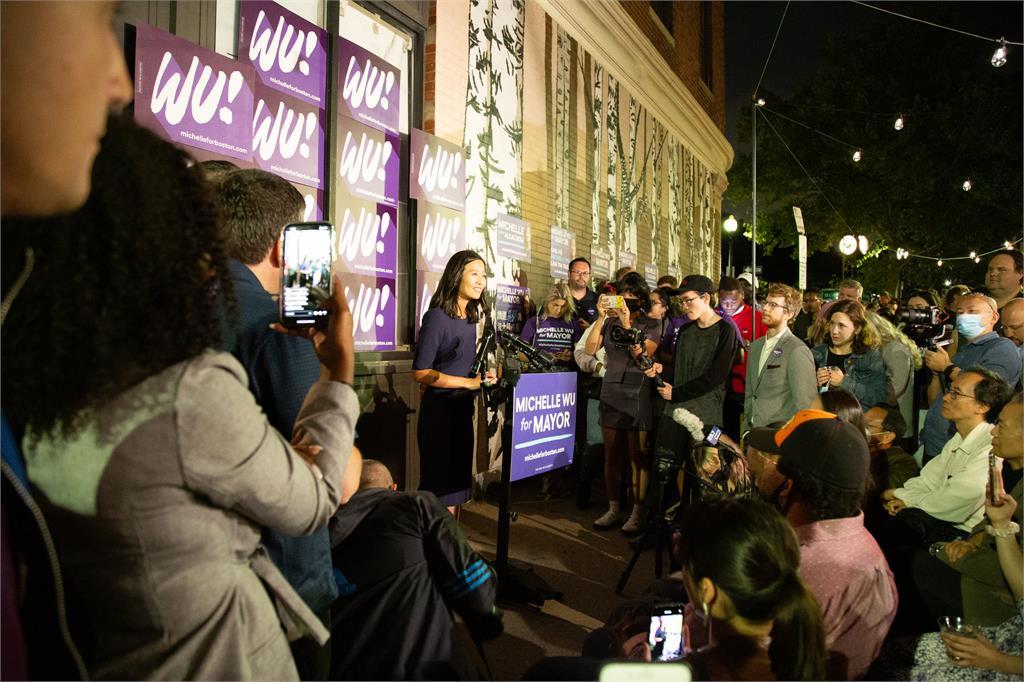 快新聞/台裔吳弭波士頓市長初選拿33.36%高票過關 有望改寫當地白人男性當市長歷史