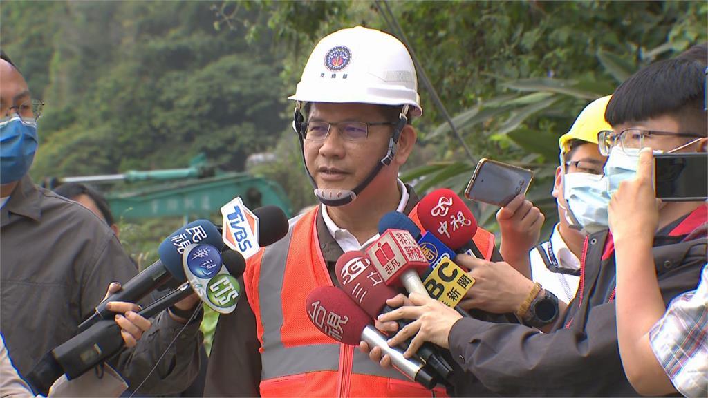 快新聞/林佳龍再赴事故現場 預定4/16完成隧道安全報告