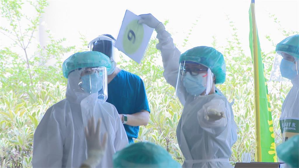 環南市場二次全員PCR 驗出一位PCR確診陽性