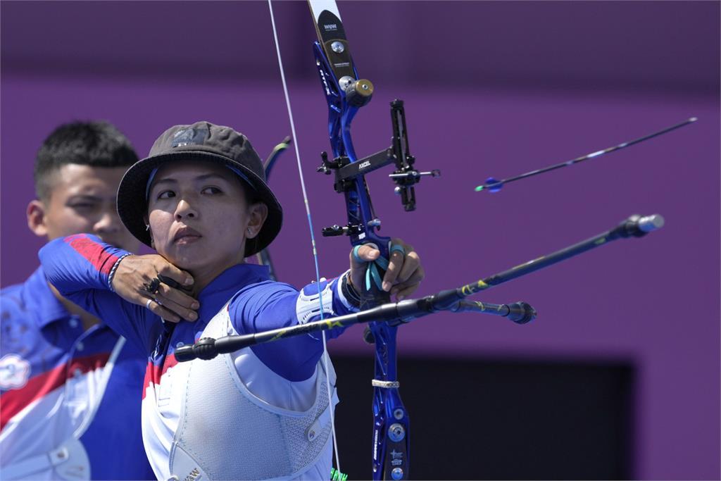 東奧/台灣射箭國手林佳恩「晉級16強」!7:3擊敗愛沙尼亞選手