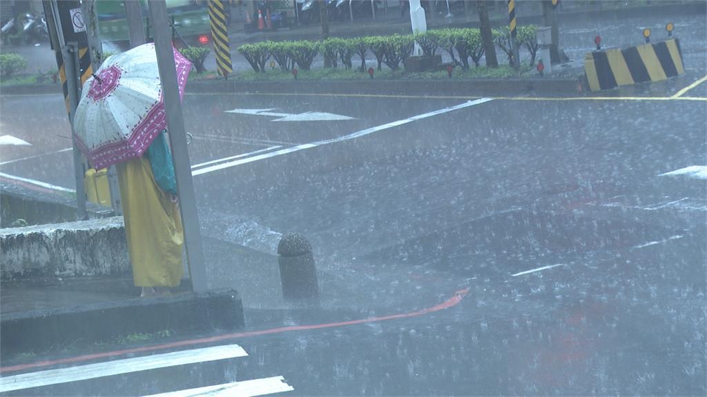 東南部大雨特報 梅雨季第一波鋒面5日通過