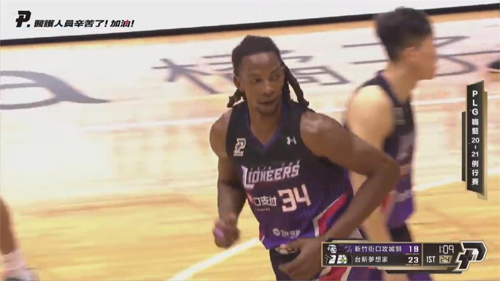 P. League+/籃板、阻攻王塔壁 獲選年度防守球員