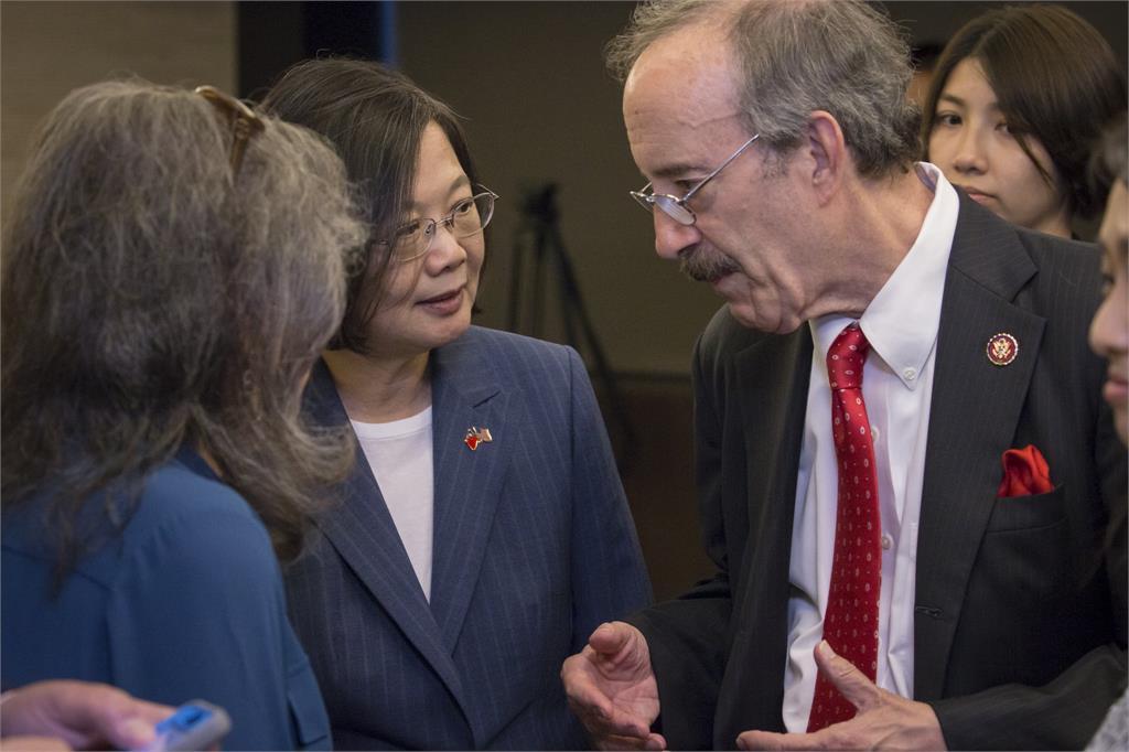 快新聞/與美眾議院外交委員會主席越洋通話 蔡英文感謝長年推動多項友台法案