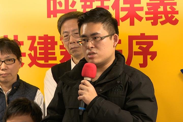 中國網友一人一信挺王炳忠 綠委諷:先檢討中國人權