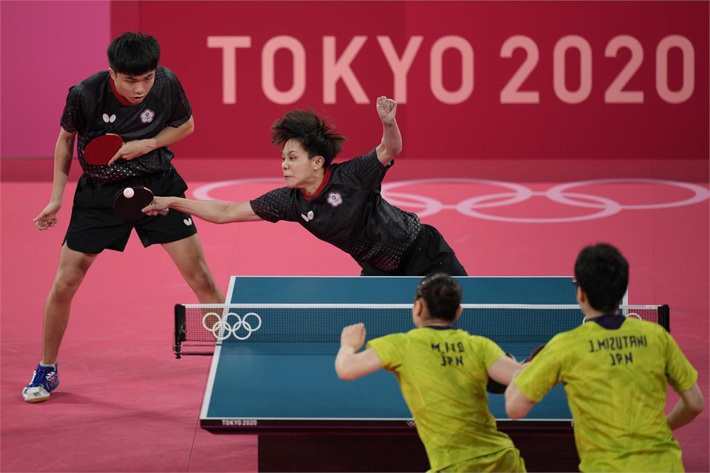 東奧/桌球「黃金混雙」鄭怡靜、林昀儒不敵日本! 無緣決賽將與法國爭銅牌