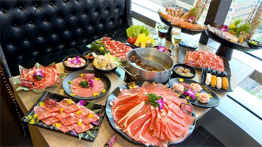 台灣人愛吃和牛!火鍋業者主打和牛吃到飽  搶攻信義區商圈