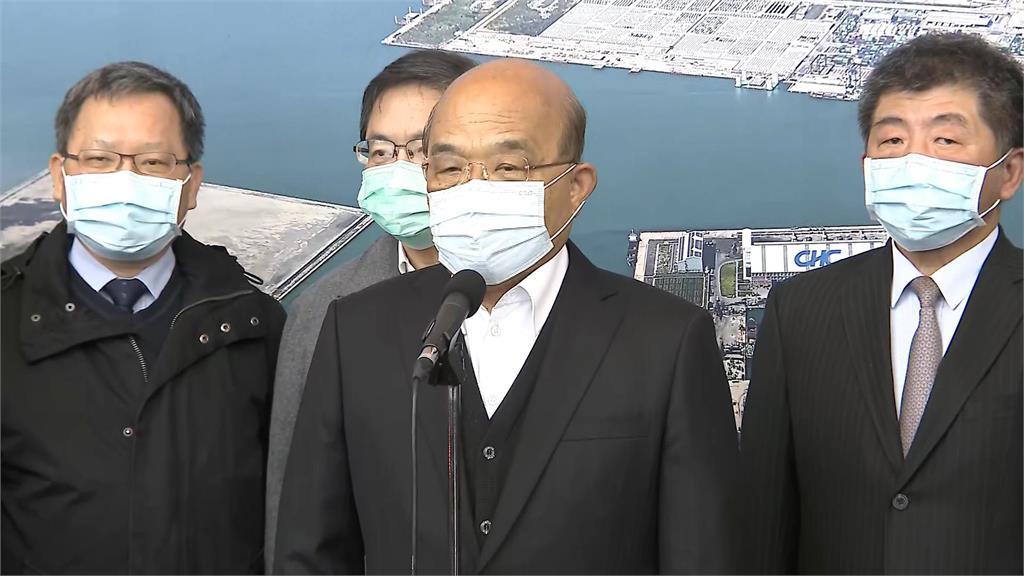 快新聞/視察豬肉進口 蘇貞昌:做好萬全準備之後會「逐批檢驗」