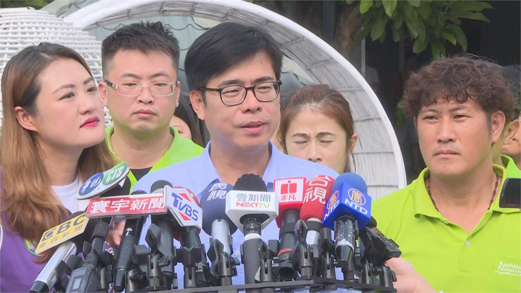 快新聞/高市議長補選國民黨曾麗燕勝出 陳其邁:對市民有利的會一起合作