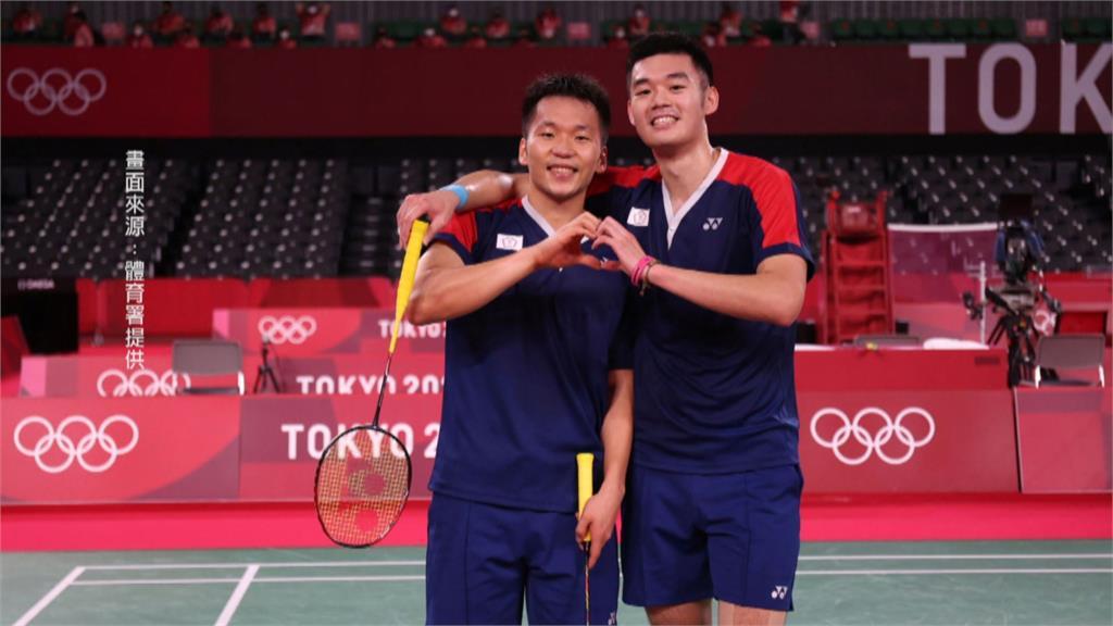 男雙李洋、王齊麟奪勝 晉東奧金牌戰