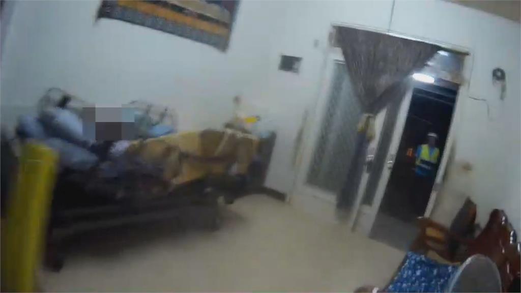 暗夜聞到瓦斯味  鄰居機警救98歲老婦