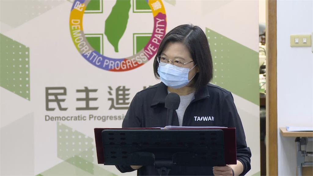 快新聞/強調政府未介入中天換照案 蔡英文:各界不同意見證明台灣不只一種聲音