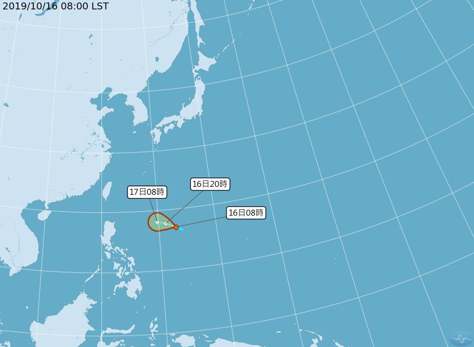 颱風「浣熊」最快今生成!全台18縣市注意強風特報