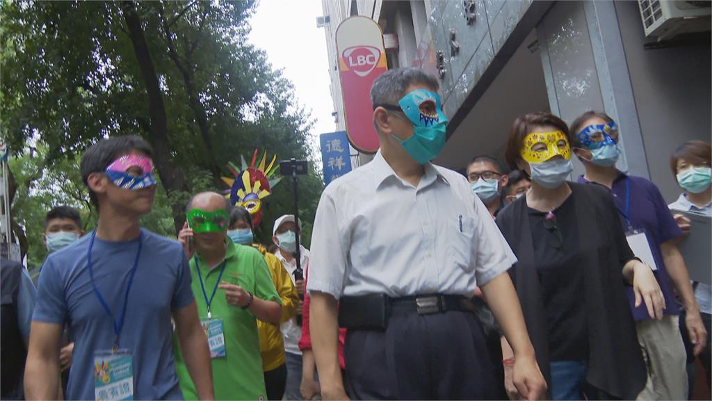 活動合體黃珊珊踩街柯文哲國慶前搶攻軍系票倉?