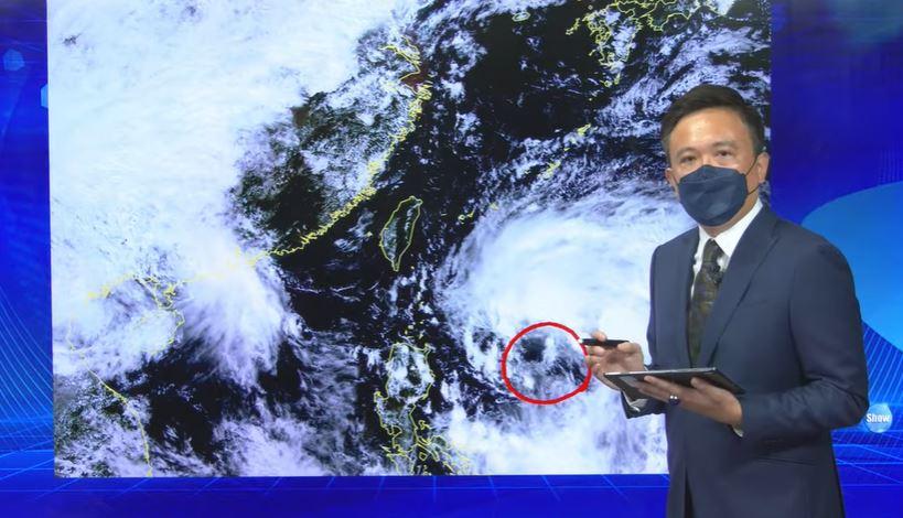 快新聞/輕颱「圓規」明後天最接近台灣 東部北部水氣增恐有豪、大雨
