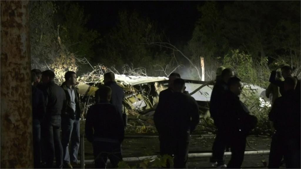 烏克蘭軍機失事墜毀 至少22人死亡
