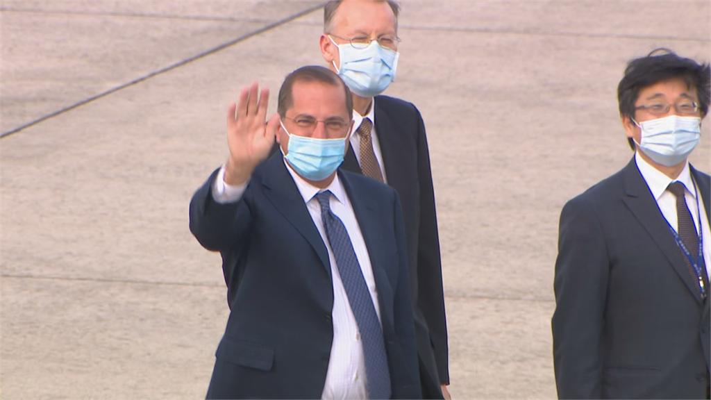 快新聞/阿札爾結束訪台返美 松山機場現場直擊看《民視快新聞》