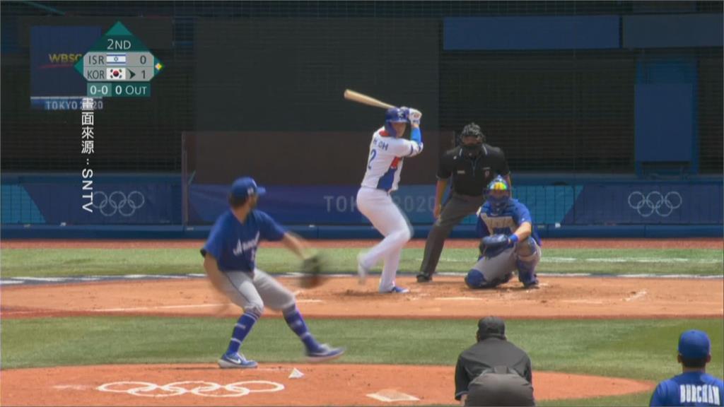 東奧棒球第二輪開打 日韓兩強同日出賽