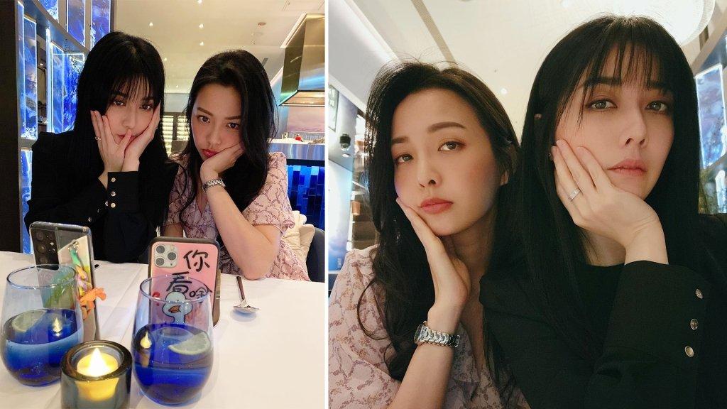 兩大台劇女神合體!韓瑜與何蓓蓓因戲結緣成好姊妹 網友驚喜:根本雙胞胎