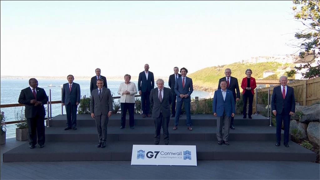 拜登率G7抗中有歧見 傳德國.義大利不配合