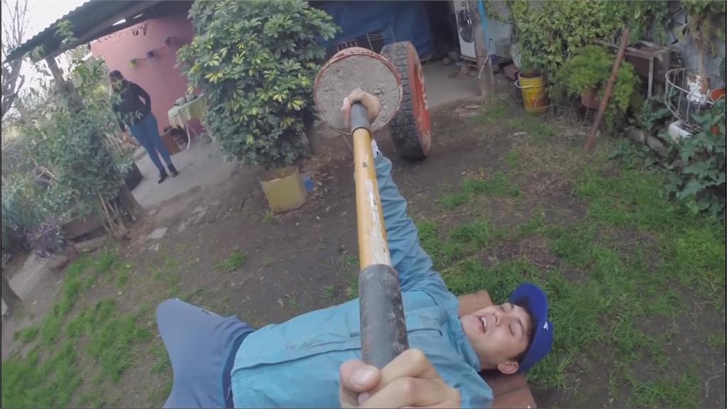 阿根廷場館未解封...奧運拳手以水泥塊克難訓練