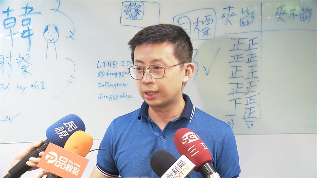 呱吉爆有人給40萬談大同 黃國昌:感動他的坦蕩
