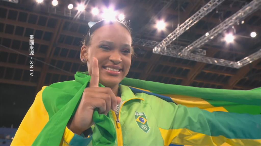東奧女子體操百花齊放 巴西選手首度奪牌寫歷史