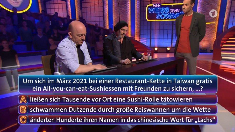 德國益智節目猜「鮭魚之亂」 來賓聽到答案傻眼笑翻
