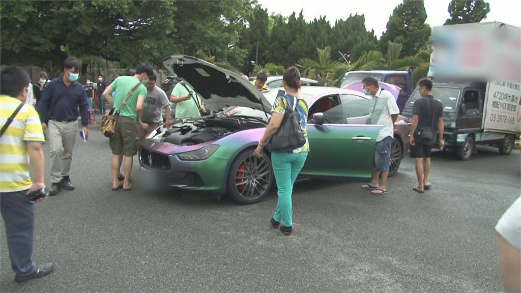 這台車是男人的夢想!紫綠色包膜瑪莎拉蒂 183萬拍出
