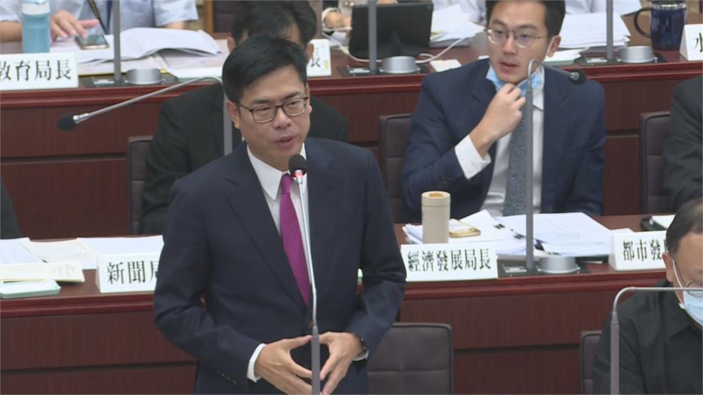「韓總機」走了「陳主機」來了!陳其邁議會備詢有問必答