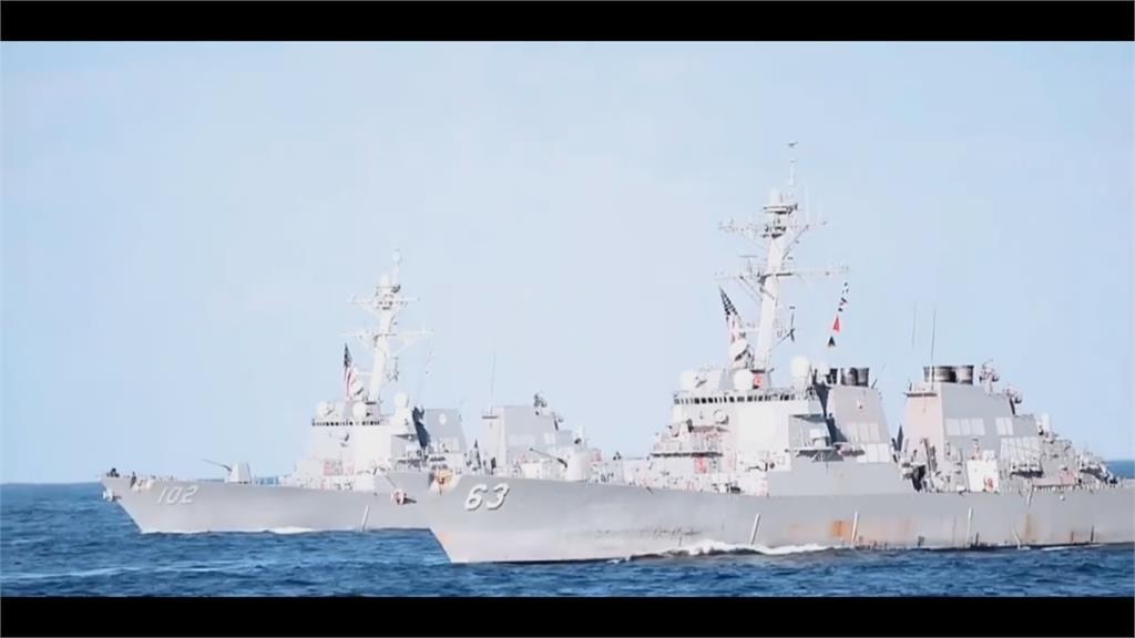 遼寧艦出沒宮古島海域 美軍艦混入其中緊盯