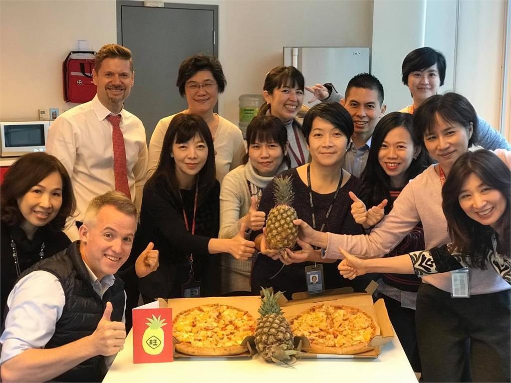 快新聞/加拿大駐台辦事處挺台灣鳳梨! 自曝夏威夷披薩是「在加拿大發明的」