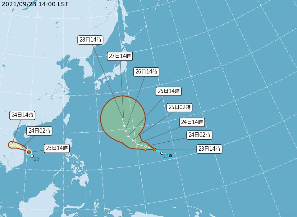 快新聞/第15號颱風「電母」生成! 預計朝中南半島前進