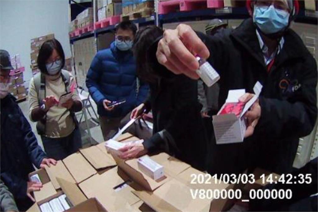 快新聞/首批AZ疫苗抵台「開箱畫面曝光」 最快15日開打