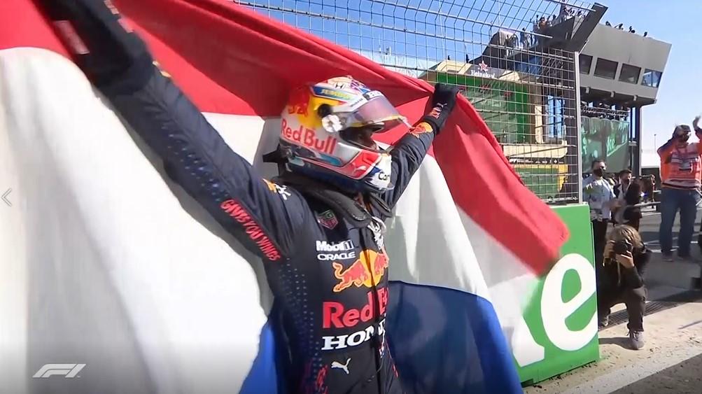 F1荷蘭站 地主車手紅牛維斯塔潘家鄉奪冠