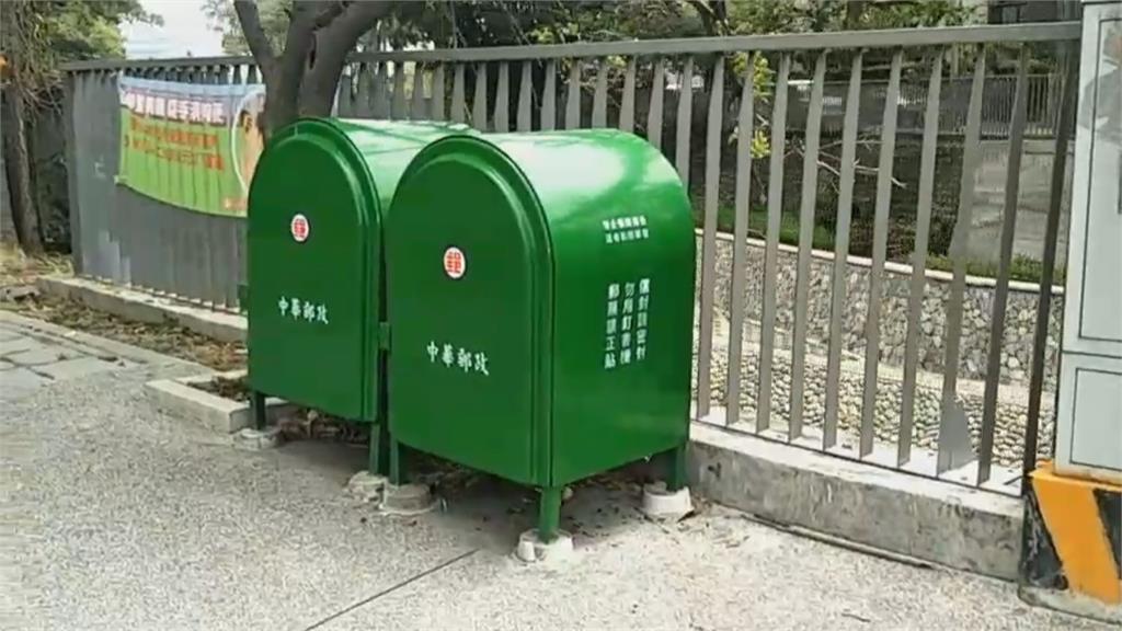 郵筒沒投遞孔怎投遞? 網友:暫放信件中繼站