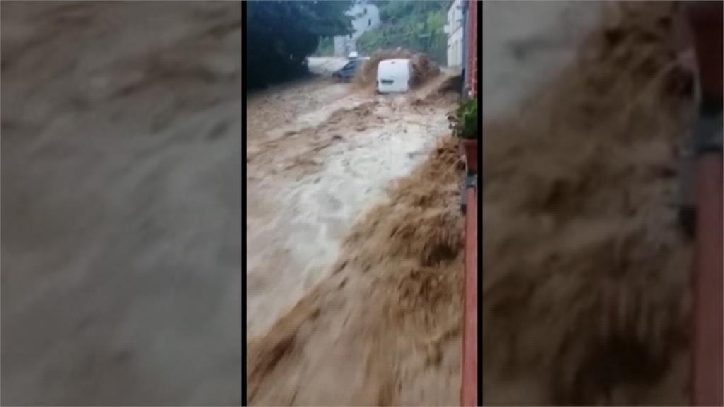 歐洲野火淹水不斷 比利時暴雨慘淹