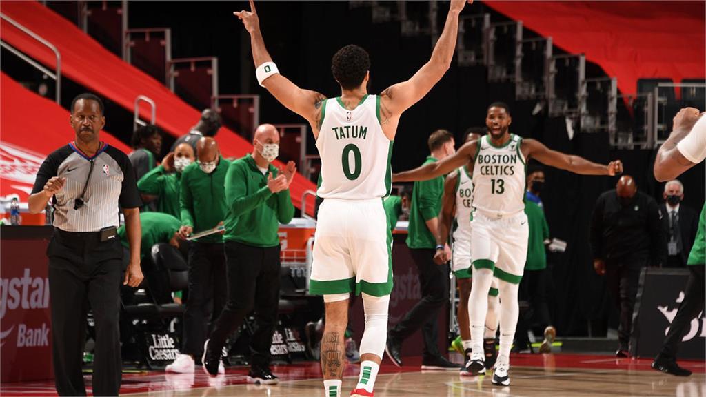 NBA/泰騰攻全隊最高27分 塞爾提克四連勝結束上半季