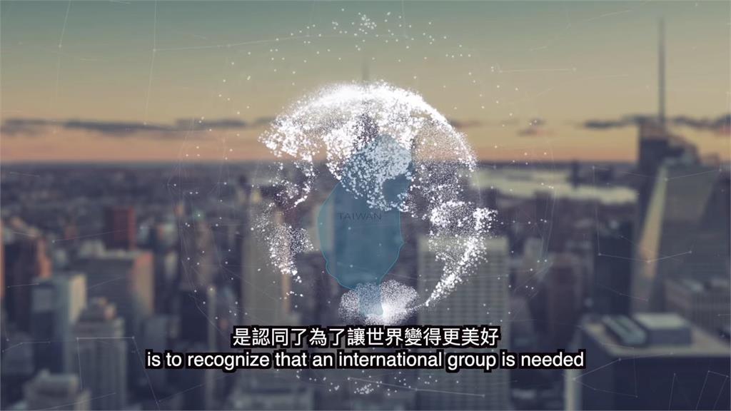 台灣是自由國家!英籍帥模深刻體會「尊重多元」 力挺加入聯合國