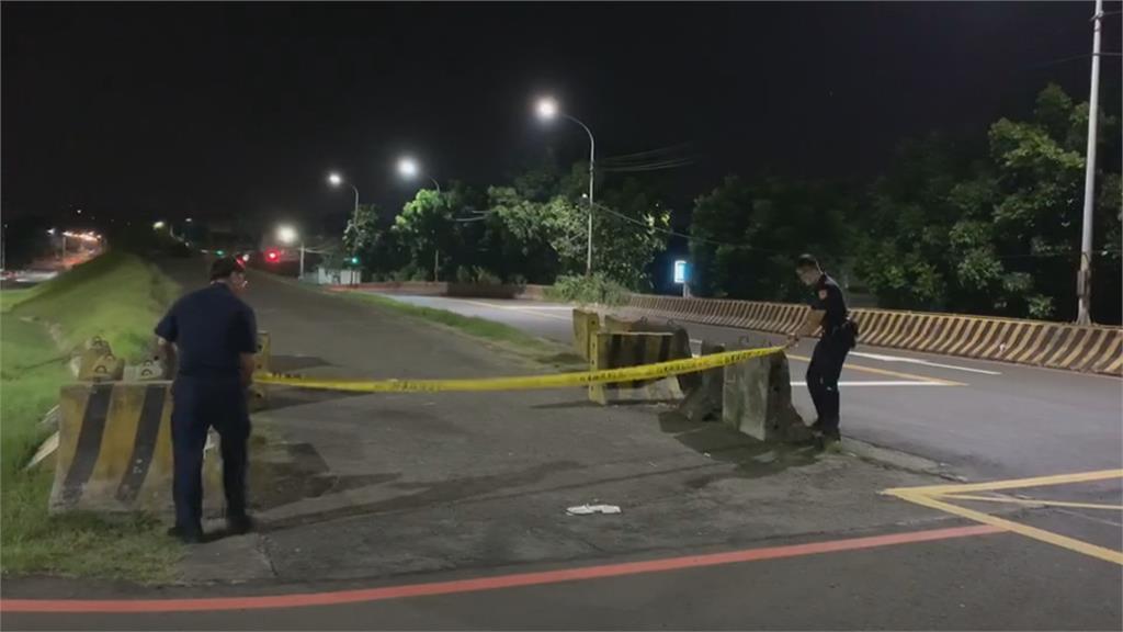 酒店經紀遭虐打 丟包新莊越堤道慘死 死者全身傷 警研判凶手至少2人