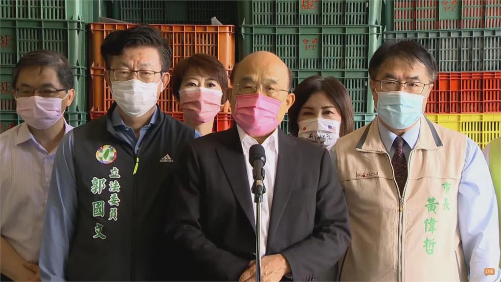 快新聞/疫苗推文被移除 蘇貞昌:美國用實際行動支持台灣