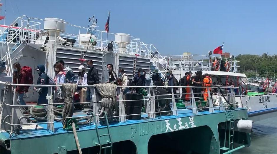 快新聞/颱風漸遠離 明日往返蘭嶼、綠島船班正常開航