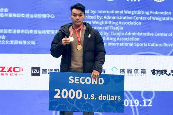 東奧/陳柏任挺舉、總和雙破全國紀錄! 合計381公斤名列第五無緣獎牌