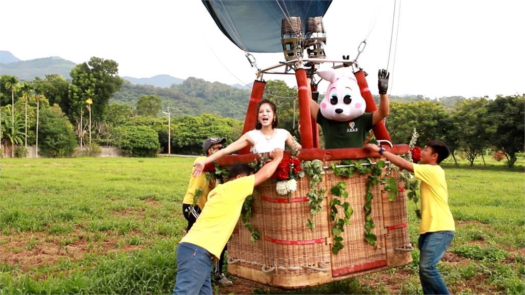 《多情城市》赴台東池上取景 蘇晏霈搭熱氣球直呼興奮