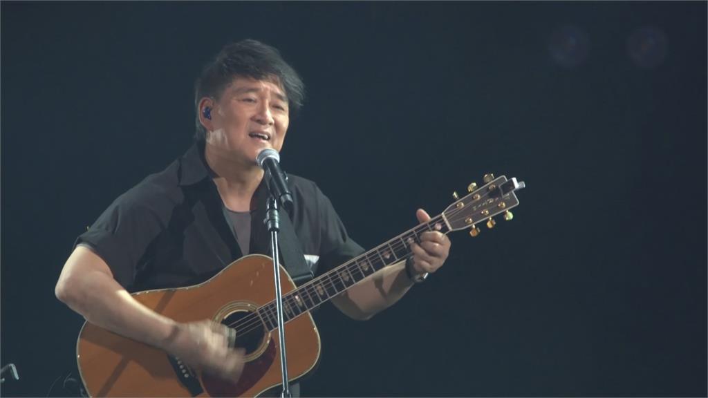 周華健「少年俠客」演唱會 合體齊豫飆神曲