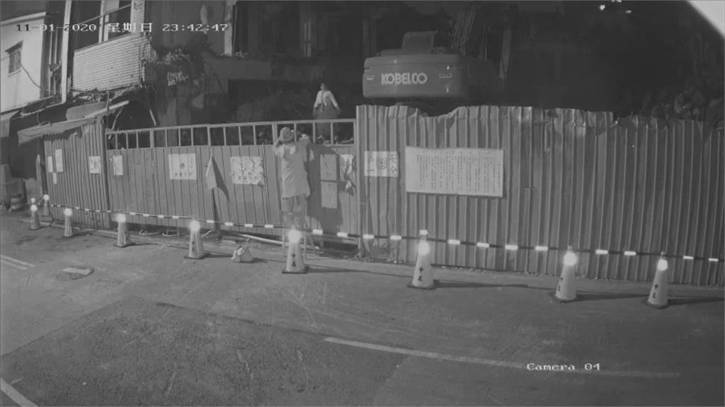 斗六急拆東市場 議員闖工地拍婚紗抗議