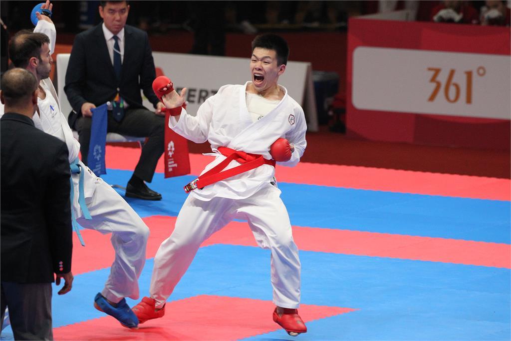 亞運/空手道再得一銅!徐瑋駿男子75公斤級擊敗泰國